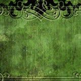 Fond grunge vert Photographie stock libre de droits