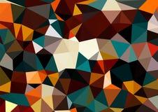Fond Halloween de cubisme multicolore illustration libre de droits