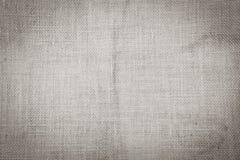 Fond hessois de texture de ton noir et blanc Photos libres de droits