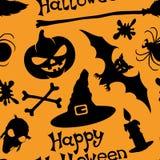Fond heureux de Halloween. Photographie stock libre de droits