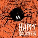 Fond heureux de Halloween Image libre de droits