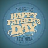 Fond heureux de jour de pères Photo stock