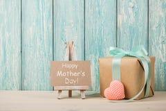 Fond heureux de jour du ` s de mère Photos libres de droits