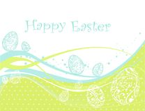 Fond heureux de Pâques illustration libre de droits