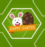Fond heureux de Pâques Images stock