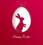 Fond heureux de Pâques Image stock
