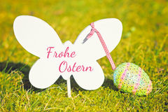 Fond heureux de Pâques Photos stock