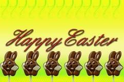 Fond heureux de Pâques Photographie stock libre de droits
