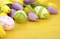 Fond heureux de Pâques Photographie stock