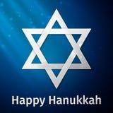 Fond heureux de vacances de Hanoucca illustration de vecteur