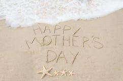 Fond heureux du jour de mère Photo stock