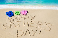 Fond heureux du jour de père Images stock