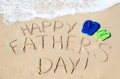 Fond heureux du jour de père Photo libre de droits