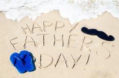 Fond heureux du jour de père Photo stock