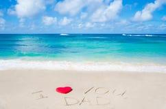 Fond heureux du jour de père Image stock