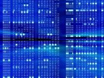 Fond hexadécimal de code Image libre de droits