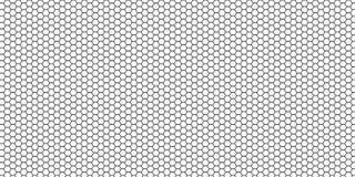 Fond hexagonal Photo libre de droits