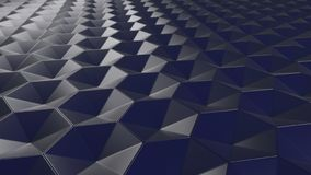 fond hexagonal abstrait géométrique du papier peint 3D Image libre de droits