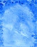 Fond hivernal bleu Photos stock