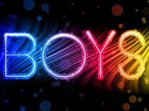 Fond homosexuel de fierté de garçons Images libres de droits