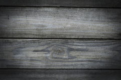 Fond horizontal âgé de texture en bois extérieure Photo libre de droits