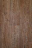 Fond horizontal brun en bois de matériel naturel Photos libres de droits