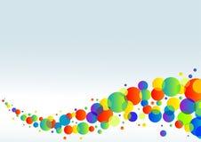Fond horizontal coloré illustration stock
