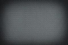Fond horizontal d'argent de maille en métal Image stock