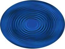 Fond, illustration une sphère avec une ligne onduleuse sur le fond blanc ! images libres de droits