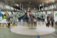 Fond impressionniste abstrait de transp de train de rail de Britomart photos libres de droits