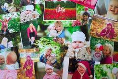 Fond imprimé de photos Image libre de droits