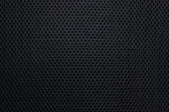 Fond inégal noir de texture Modèle abstrait de détail de matériel ou de siège de trou de textile photographie stock libre de droits