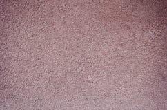 Fond inégal rose de mur de stuc Image libre de droits