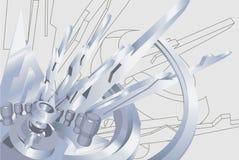 Fond industriel Image libre de droits