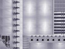 Fond industriel abstrait de concept photos libres de droits