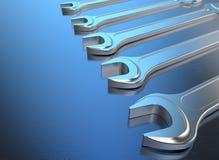 Fond industriel d'outils Image stock