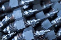 Fond industriel d'une partie de valves image libre de droits