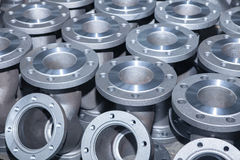 Fond industriel d'une partie de valves photo stock