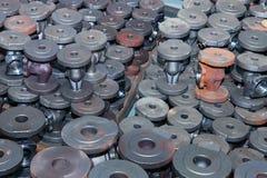 Fond industriel d'une partie de valves photo libre de droits