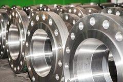 Fond industriel d'une partie de valves photos libres de droits