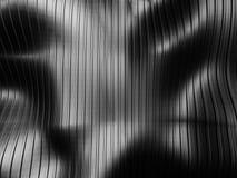 Fond industriel de rayure argentée foncée abstraite Images libres de droits