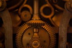 Fond industriel des roues de vitesse de moteur Images stock