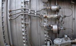 Fond industriel en métal Images stock