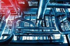 Fond industriel intérieur modifié la tonalité Image libre de droits