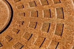 Fond industriel rouillé Photo libre de droits
