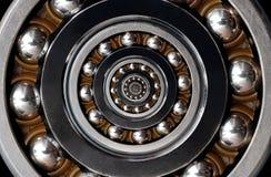 Fond industriel surréaliste irréaliste incroyable drôle de modèle d'abrégé sur spirale roulement à billes Abrégé sur en spirale m photo stock