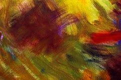 Fond initial de peinture à l'huile. Photographie stock