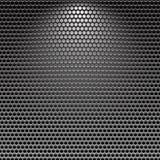 Fond inoxidable foncé de texture en métal de gril Photographie stock libre de droits
