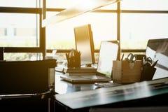 Fond intérieur d'espace de travail Photo libre de droits