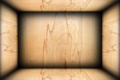 Fond intérieur de finition de contreplaqué abstrait image libre de droits
